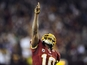 Washington Redskins' Robert Griffin III on December 3, 2012