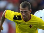 Watford's Joe Garner on August 5, 2012
