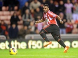 Sunderland's Stephane Sessegnon scores against Reading on December 11, 2012