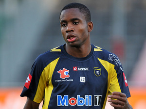 Sochaux's Cedric Bakambu on 30 October 2011