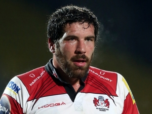Gloucester Rugby captain Jim Hamilton on December 2, 2012