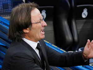 Granada coach Juan Antonio Anquela on September 2, 2012