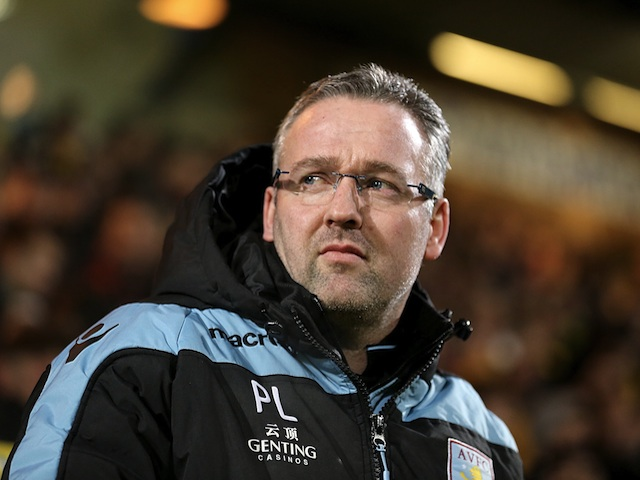 paul lambert praises outstanding aston villa sports mole. Black Bedroom Furniture Sets. Home Design Ideas