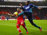 Danny Rose and Nathaniel Clyne on December 22, 2012