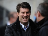 Swansea manager Michael Laudrup before kick-off against Man Utd on December 23, 2012