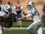 Miami Dolphins quarterback Ryan Tannehill on December 16, 2012