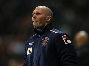 Blackpool boss Michael Appleton on the touchline against Wolves on December 21, 2012