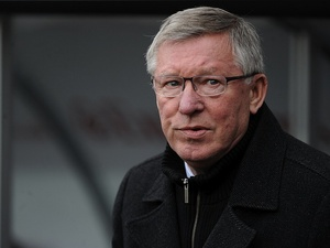 United boss Sir Alex Ferguson at the Liberty Stadium on December 23, 2012