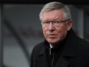 United boss Sir Alex Ferguson at the Liberty Stadium on December 23, 2012