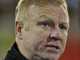 Nottingham Forest manager Alex McLeish during the match against Crystal Palace on December 29, 2012