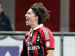 AC Milan's Riccardo Montolivo on November 3, 2011