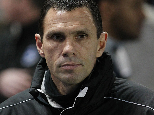 Brighton manager Gus Poyet during the match against Watford on December 29, 2012