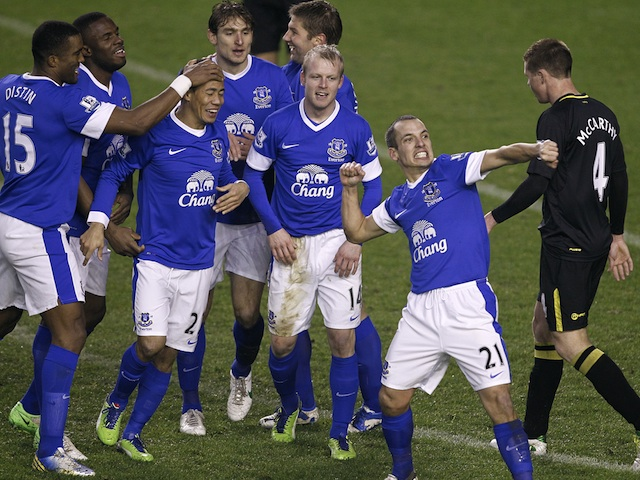 Result everton extend unbeaten run sports mole for Boxing day meuble leon