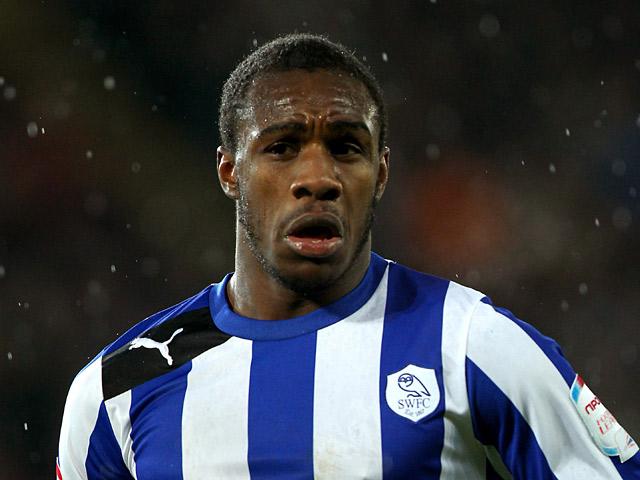 Sheffield Wednesday's Michail Antonio on December 2, 2012