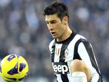 Juventus Federico Peluso during his debut against Sampdoria on January 6, 2013