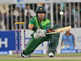 Pakistan's captain Misbah-ul-Haq on August 28, 2012