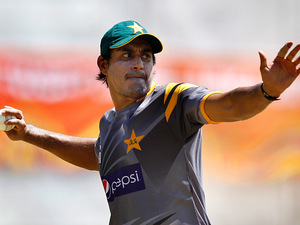 Pakistan's Nasir Jamshed on September 21, 2012