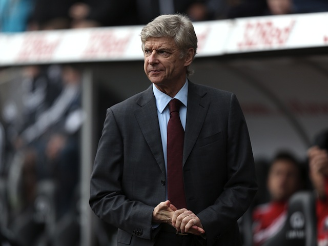 Arsene Wenger on the touchline during Arsenal's 2-2 draw with Swansea on January 6, 2013