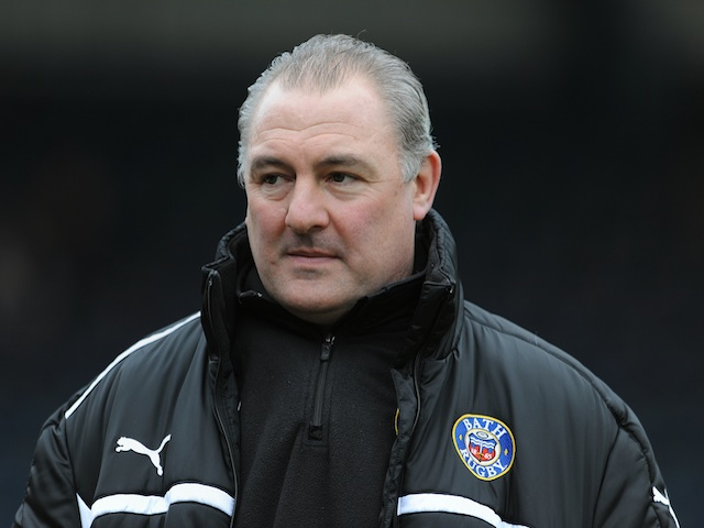 Bath Rugby head coach Gary Gold, before the game with London Wasps on January 6, 2013