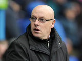 Reading manager Brian McDermott before kickoff against West Brom on on January 12, 2013
