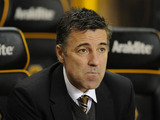 Dean Saunders manager of Wolverhampton Wanderers during his teams match versus Blackburn Rovers on January 11, 2013