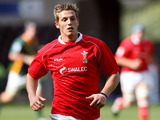 Jason Tovey playing for Wales in the IRB Junior World Championship on 22 June, 2008