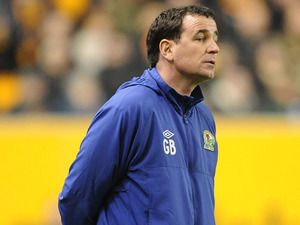 Blackburn Rovers caretaker manager Gary Bowyer watches his side in action against Wolverhampton Wanderers on 11 January, 2013