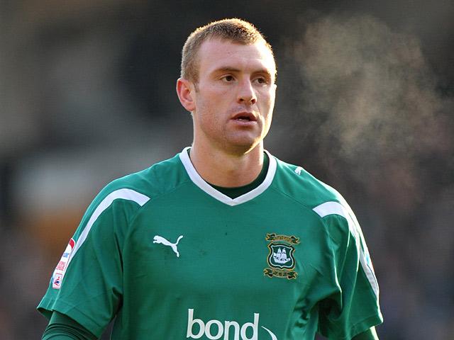 Plymouth's Nick Chadwick on January 28, 2012