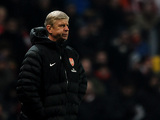 Arsenal manager Arsene Wenger on the touchline during the FA Cup third round replay against Swansea on January 16, 2013