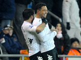 Fulham player Kieran Richardson celebrates scoring a late equaliser in his sides FA Cup third round replay on January 15, 2013