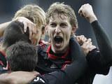 Bayer Leverkusen's Stefan Kiessling on March 3, 2012