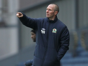 New Blackburn boss Michael Appleton on the touchline during the game with Charlton on January 19, 2013