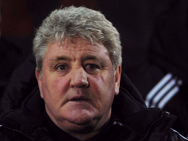 Hull City manager Steve Bruce before his sides match with Leyton Orient on January 15, 2013