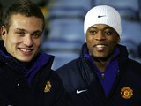 Nemanja Vidic and Patrice Evra for Manchester United in 2006