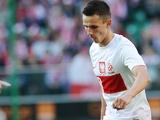 Poland's Rafal Wolski playing against Andorra on June 2, 2012