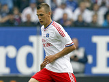 Robert Tesche of Hamburg during his sides match against 1.FC Cologne on August 27, 2011