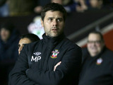 New Southampton manager Mauricio Pochettino prior to his teams match with Everton on January 21, 2013