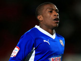 Chesterfield player Tendayi Darikwa during his sides match against Doncaster Rovers on October 9, 2012