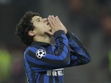 Inter midfielder Coutinho in action against CSKA on December 7, 2011
