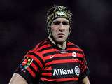 Saracens' Kelly Brown in action on December 16, 2012