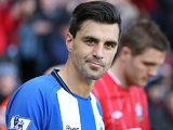 Paul Scharner on his return to Wigan on February 2, 2013