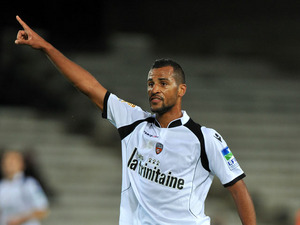 Lorient player Alaixys Romao during his sides match with Montpellier Herault on October 26, 2011