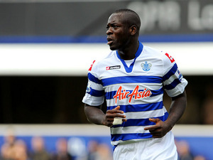 New QPR signing Christopher Samba makes his debut against Norwich on February 2, 2013