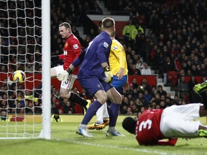 Wayne Rooney taps in United's second against Southampton on January 30, 2013