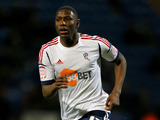 Bolton Wanderers player Benik Afobe during a match on January 12, 2013
