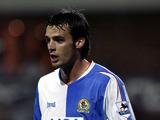 Former Blackburn Rovers player Matt Jansen during a match on November 21, 2004