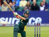 Australia's Rachael Haynes plays a shot on June 25, 2011