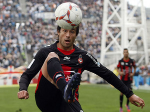 Nice player Dario Cvitanich on November 11, 2012