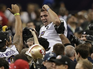 Flacco wins the Superbowl