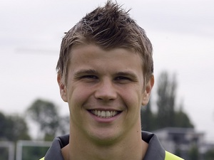 Dortmund 'keeper Mitchell Langerak at photo-call on July 31, 2012